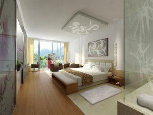 Contract hotel, rendering