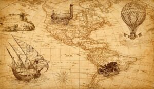 map, discovery, america